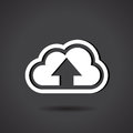Upload To Cloud Royalty Free Stock Photo - 27283635