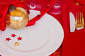 Table Served For Christmas Party Stock Photo - 27289570
