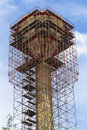 Steel Scaffolding Tower Royalty Free Stock Photo - 27299005