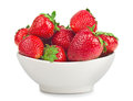 Bowl With Strawberries Royalty Free Stock Photo - 27300715