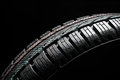 Close Up Of New Winter Tire Stock Photo - 27306570