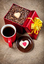 Holiday Coffee Stock Images - 27313374