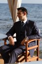 Young Man In Expensive Suit Royalty Free Stock Photography - 27319887