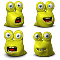 Cute Monster Stock Photography - 27336662