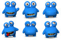 Cute Blue Bug Royalty Free Stock Images - 27337039