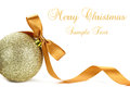 Christmas Bauble Royalty Free Stock Images - 27350469