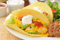 Chicken Tacos Royalty Free Stock Images - 27356089
