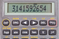 Scientific Calculator With Mathematical Functions Royalty Free Stock Photography - 27356637