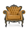 Brown Luxurious Armchair Stock Photo - 27361540