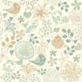 Retro Seamless Floral Pattern Stock Photos - 27370423