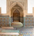 Morocco The Saadian Tombs In Marrakech Stock Photography - 27383372