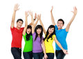Group Of Smiling Teenagers Stock Images - 27398984