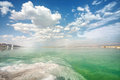 Dead Sea Landscape On A  Day Stock Image - 27404291