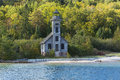 Grand Island E Channel Lighthouse Royalty Free Stock Photo - 27414885