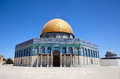 Golden Dome On The Rock Mosque Royalty Free Stock Images - 27434869