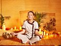 Bamboo Massage At Spa And Woman. Stock Image - 27442171