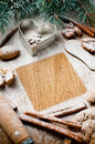 Christmas And Holiday Baking, Ready Template Stock Image - 27445521