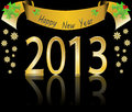 Happy New Year 2013 Royalty Free Stock Image - 27446246