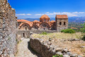 Ruins Of Old Town In Mystras, Greece Stock Images - 27450914