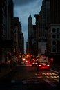 Impressions From Blacked-Out Lower Manhattan Stock Image - 27459661