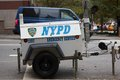 NYPD Emergency Service Generator Stock Images - 27459664