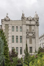 House With Chimaeras In Kiev Royalty Free Stock Photo - 27459715