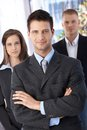 Confident Businessteam Royalty Free Stock Image - 27468636