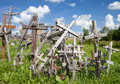 Hill Of Crosses Royalty Free Stock Image - 27470956