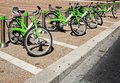 Bicycle Parking Stock Image - 27475401