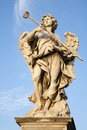 Rome -  Angel With The Sponge Royalty Free Stock Photography - 27480127