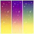 Starlight On The Colorful Sky Royalty Free Stock Photos - 27484158