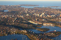 Aerial View Of Sydney Australia Royalty Free Stock Photo - 27484735