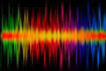 Colorful Music Graph Stock Photos - 27488663