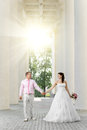 Newly Married Couple Stock Image - 27492621