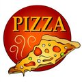 Hot Slice Of Pizza Clipart Stock Image - 2759981