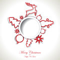 Christmas Background With Text Place Royalty Free Stock Images - 27503849