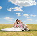 Newly Married Couple Stock Images - 27512614