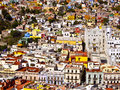 Buildings Of Many Colors Mexico Royalty Free Stock Photos - 27518378
