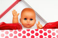 Baby Doll In Box Stock Image - 27519371