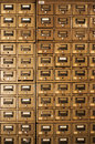 Old Disused Filing Cabinets Royalty Free Stock Photography - 27520267