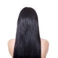 Woman With  Long Straight Brown Hair Stock Photography - 27529822