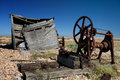 Fishing Hut Wreck Ruin Dungeness Coast Stock Images - 27531874