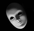 Plaster Venetian Mask Royalty Free Stock Photo - 27532245