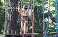 Kids In Adventure Park Royalty Free Stock Images - 27540689