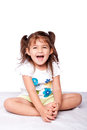 Cute Happy Toddler Girl Stock Photography - 27542592
