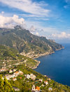 Coast View, Ravello, Italy Stock Images - 27543764