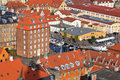 Rooftop View Of Copenhagen Royalty Free Stock Photography - 27544937