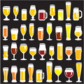 Beer Glasses Set Stock Photos - 27550543