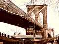Brooklyn Bridge Royalty Free Stock Photography - 27557467