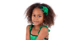 Cute Young African Asian Girl Royalty Free Stock Photography - 27558547